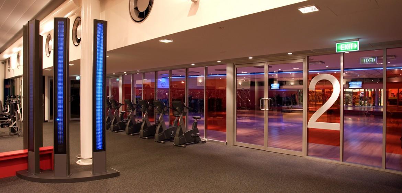 interior design quattrois quattro kylie grimwood m1 mounties fitness gym autralia
