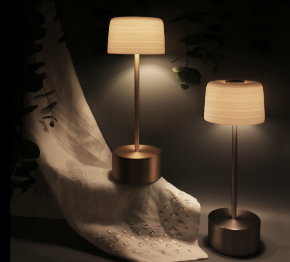 Voltra Lighting with the new range of Hemisphere lamps and lanterns – the porcelain shades by JL Coquet.