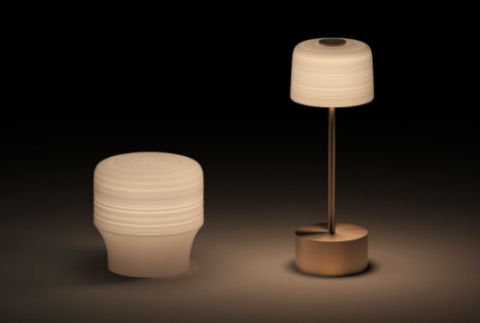 Voltra Lighting with the new range of Hemisphere lamps and lanterns – the porcelain shades by JL Coquet